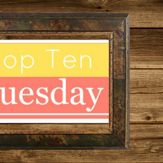 Top Ten Tuesday – 2016 Releases I Meant to Read (but didn't. but will.)