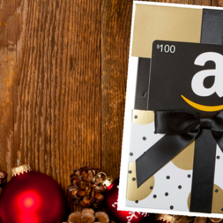 December Giveaway – $100 Amazon Gift Card